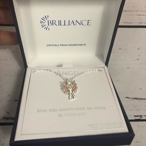 Dainty Angel necklace